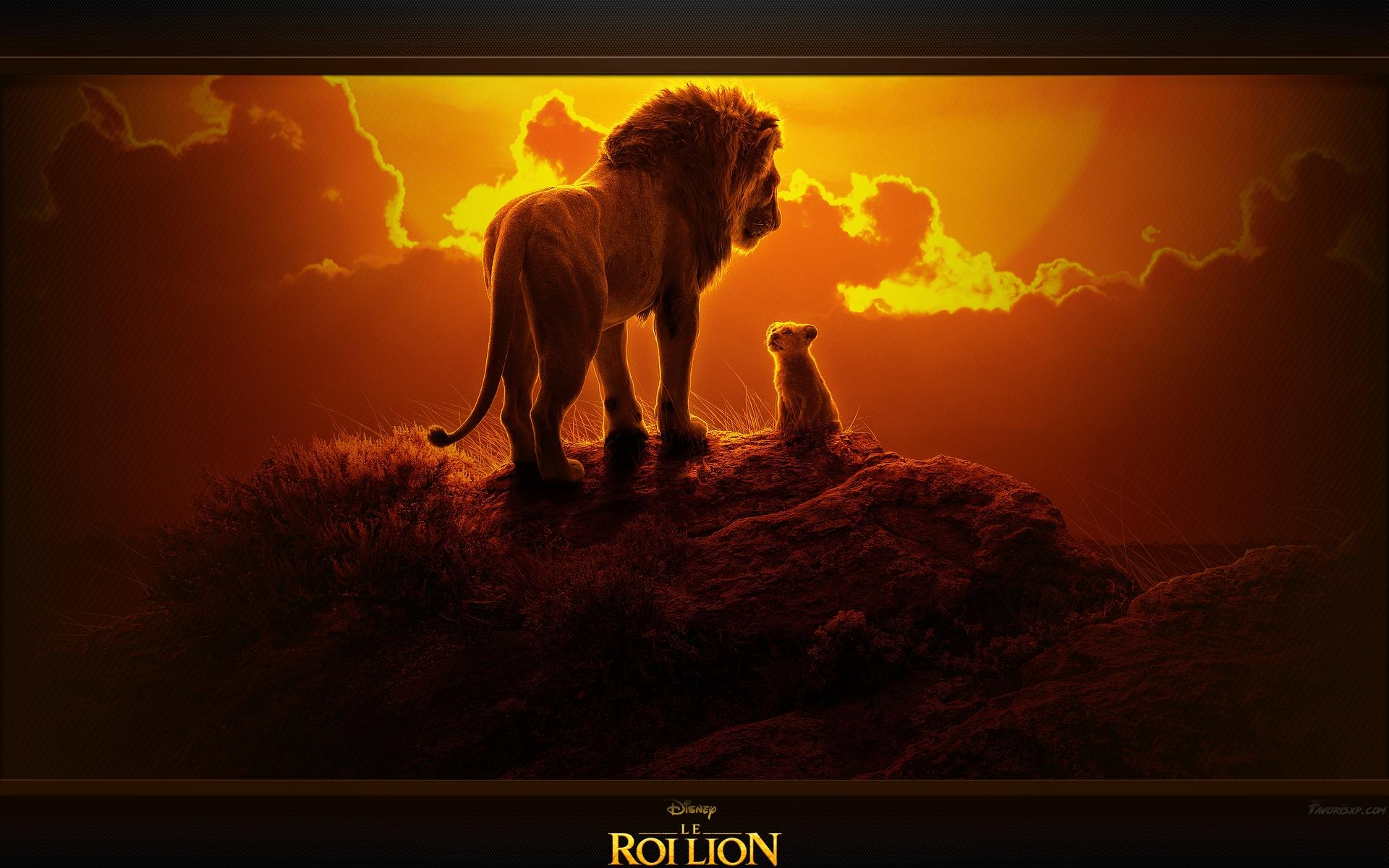 Le Roi Lion Fonds d'écran - Image arrière-plan - Wallpaper Favorisxp